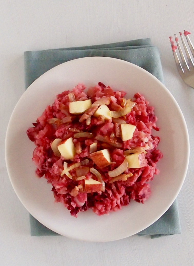 Meshed Ret Beets Stew
