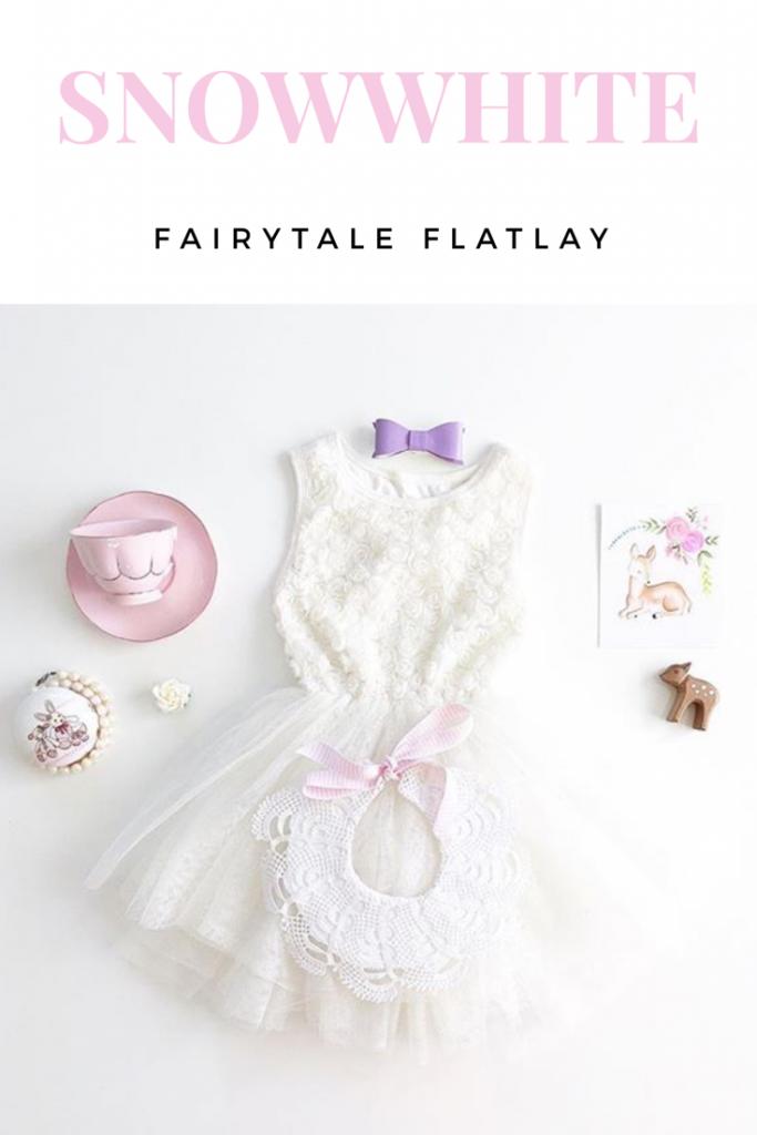 snowwhite flatlay