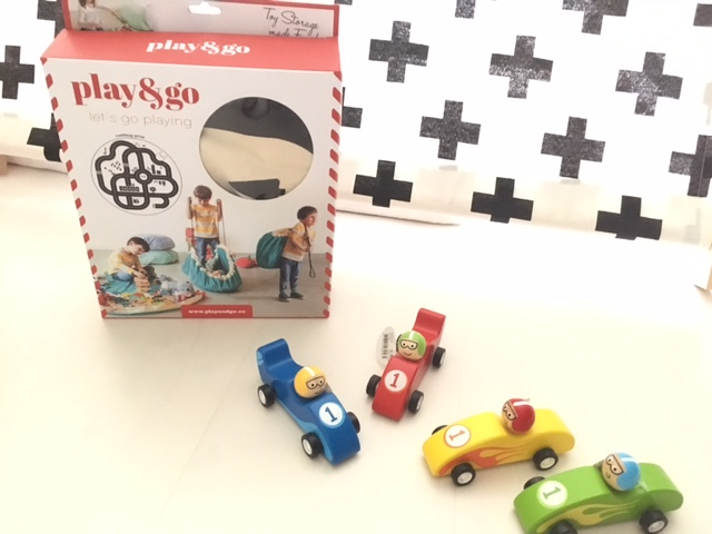 Play & Go Roadmap + houten race auto's