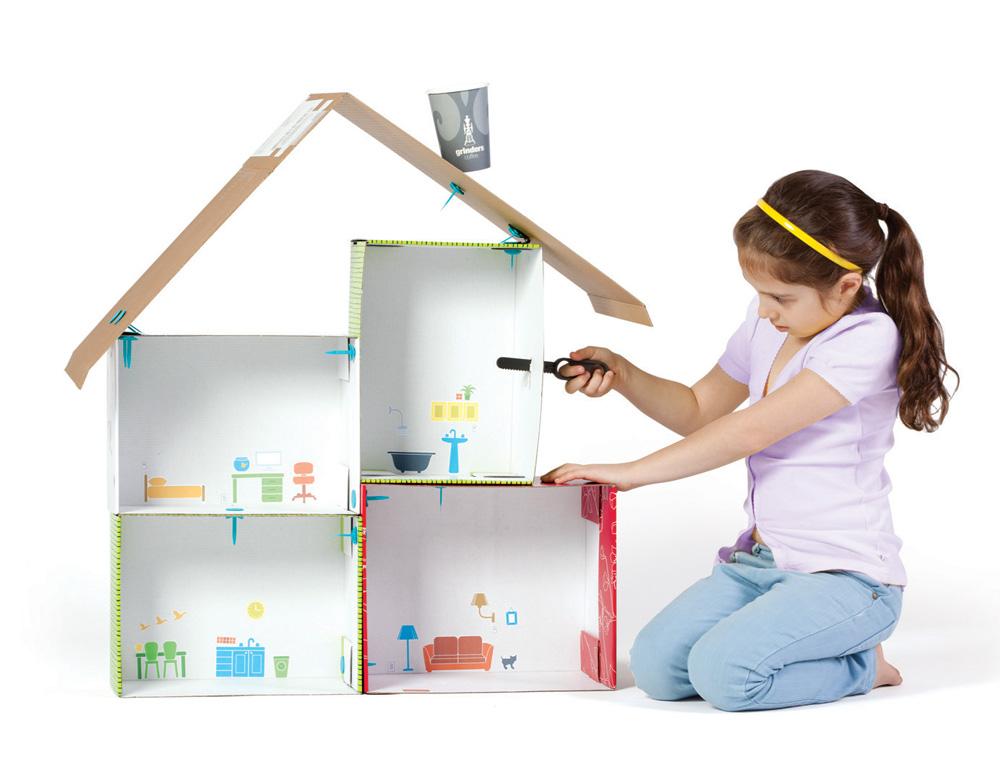 Magnifiek DIY - bouwen met karton samen met Makedo - Coolest Kid On The Blog &PV14