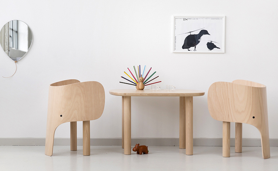 Marc Venot 's Elephant Chair, super schattig!
