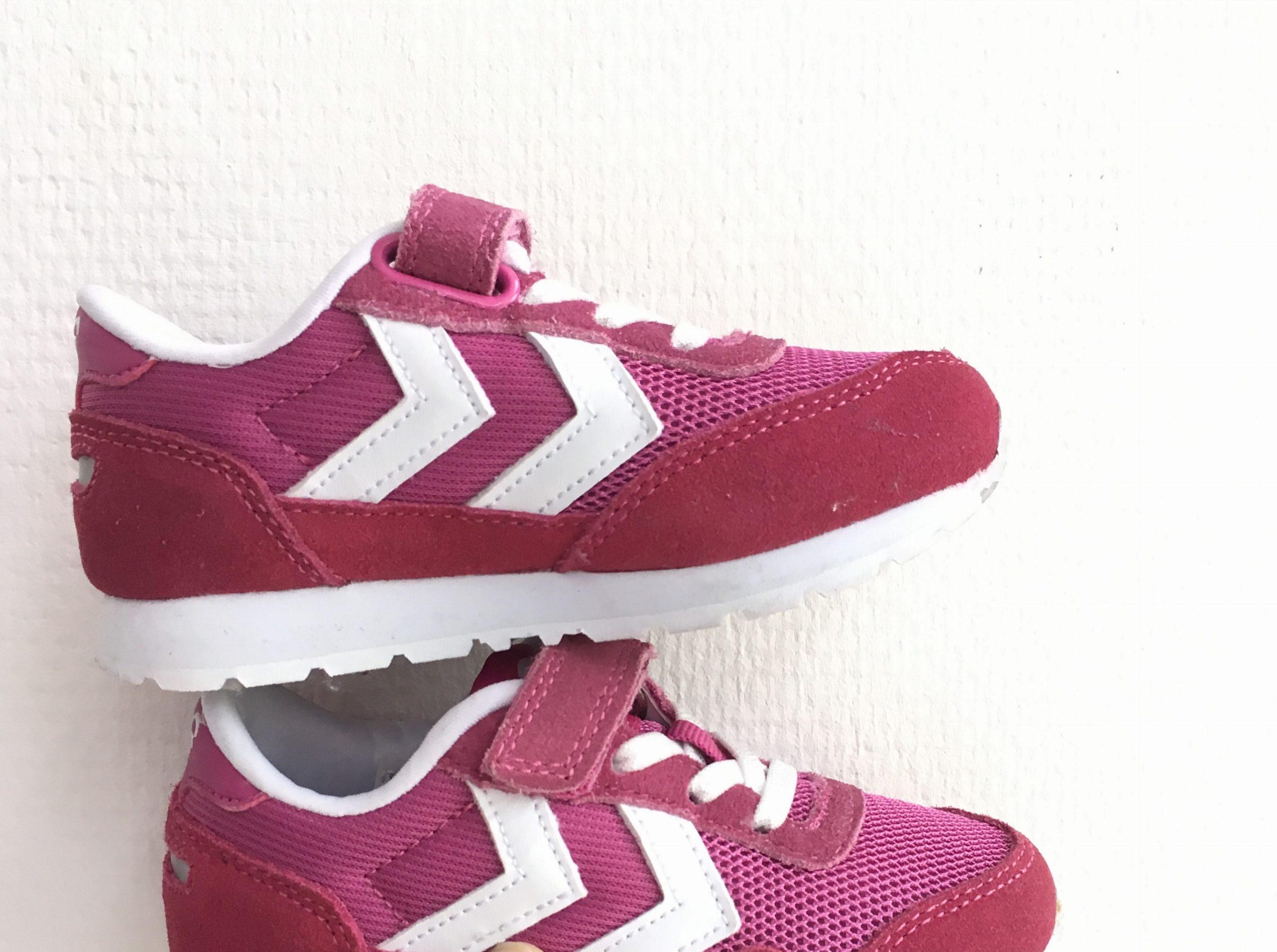Hippe roze sneakers van Hummel