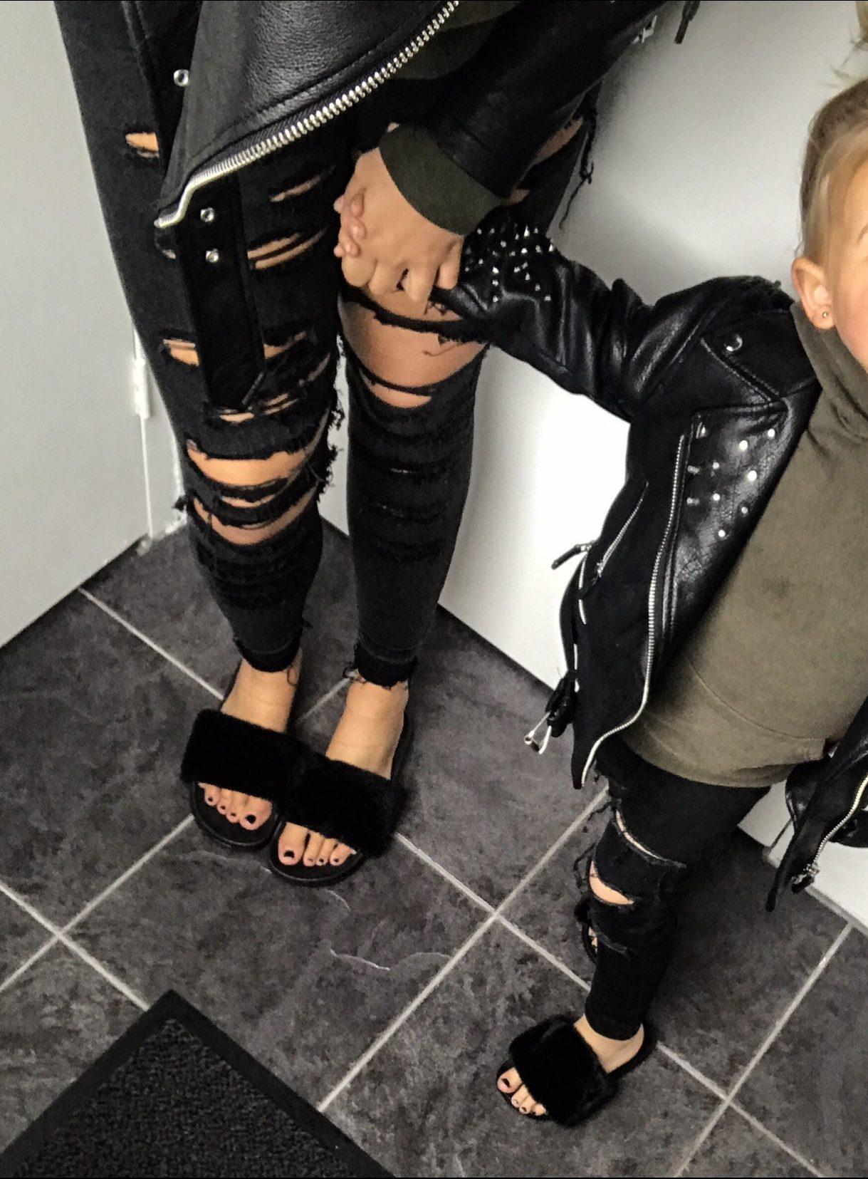 Sportlegging Tekst.Vajen S Fluffy Slippers En Meer Ootd 8 Coolest Kid On The Blog