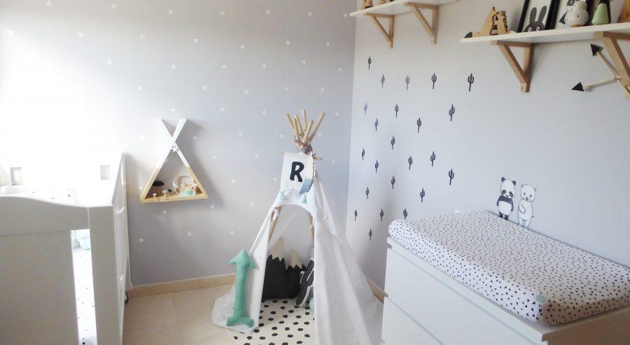 Behang Kinderkamer Scandinavisch : Roger s stoere babykamer met scandinavisch tintje instaroom
