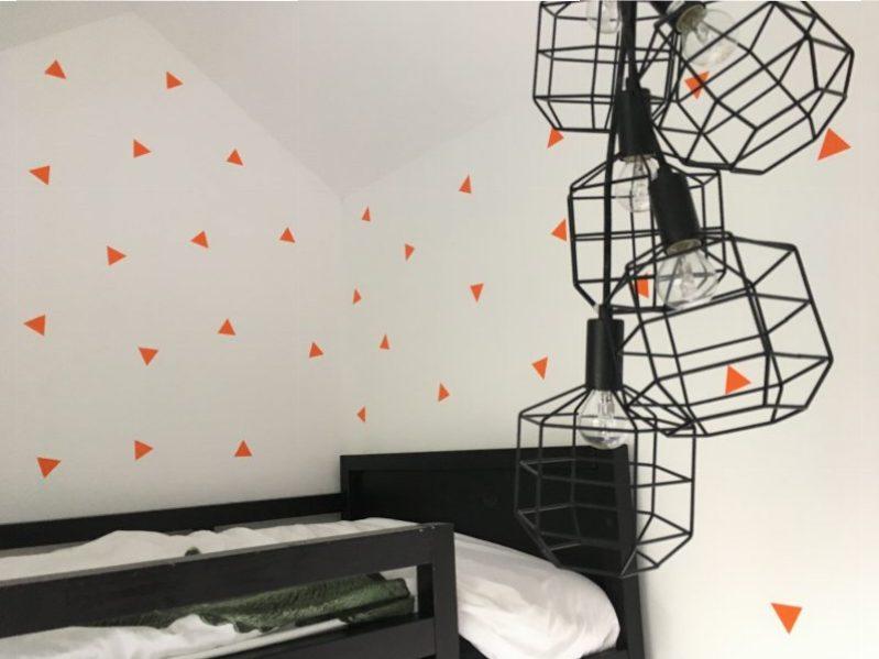 Een nieuwe kamer in minder dan 5 minuten?! Lang leve muurstickers