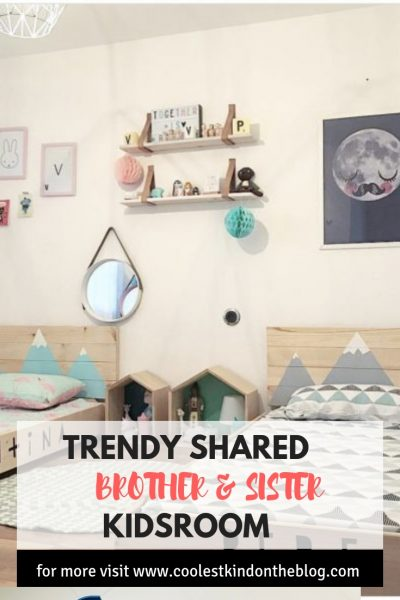 shared brother and sister kidsroom