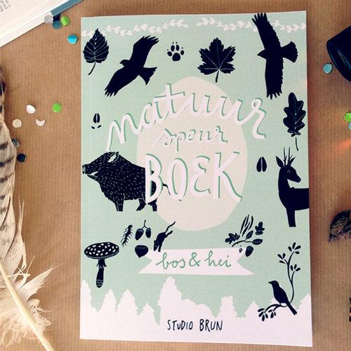 WIN: Prachtig geïllustreerd natuur speurboek voor de echte avonturiers  + set kaarten