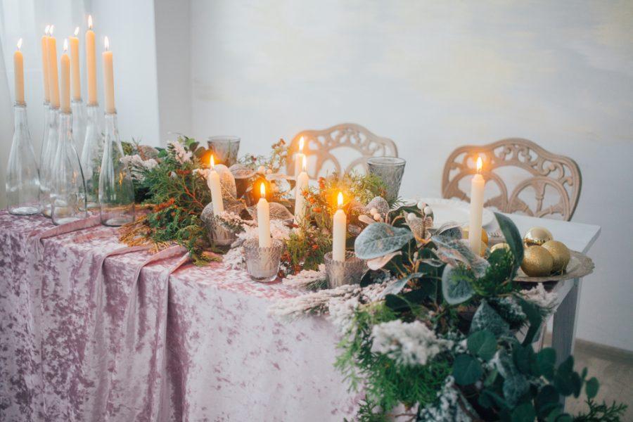 Tafeldecoratie voor de heerlijkste en meest feestelijke maaltijden