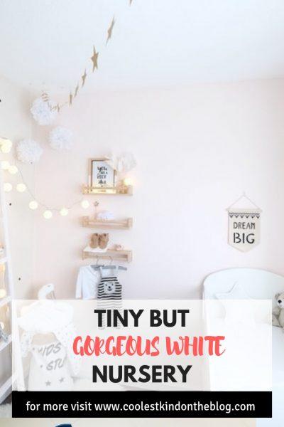 light tiny and white nursery