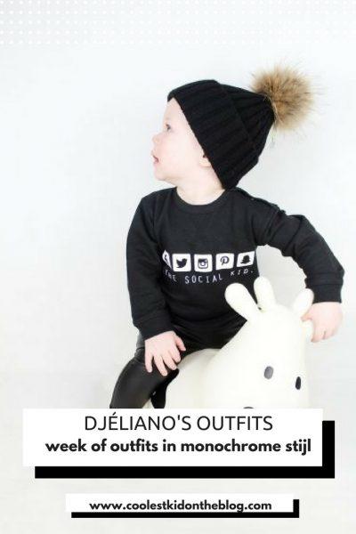 djéliano's outfits monochrome