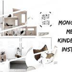 monochrome kinderkamer
