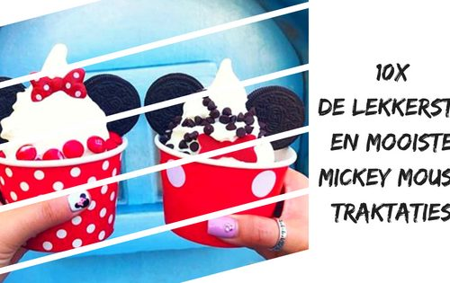 Mickey Mouse traktatie