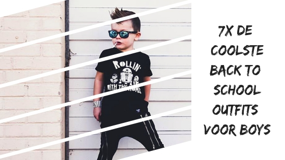7x back-to-school outfits voor coole boys