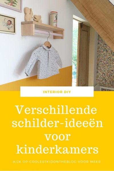 schilder-ideeën voor de kinderkamer