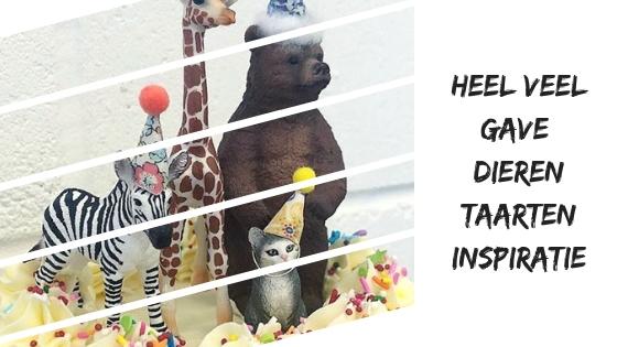 Prachtige dierentaarten voor een kids verjaardag