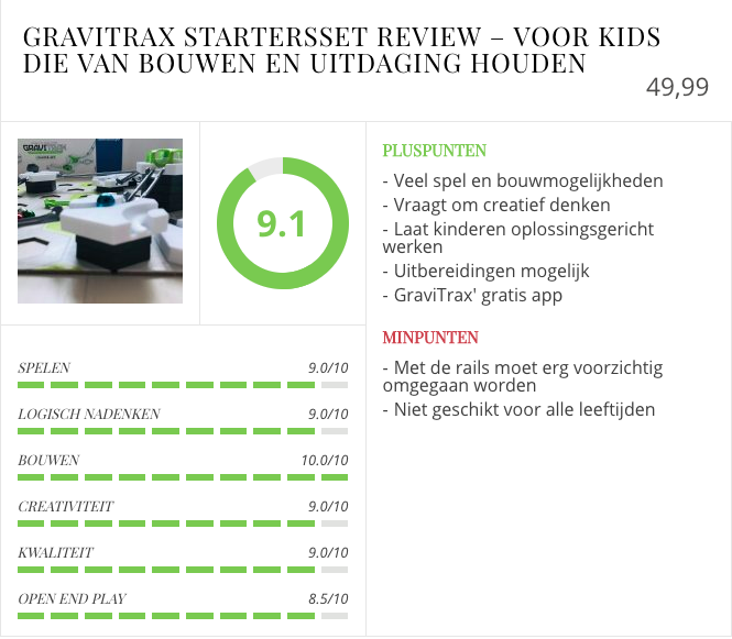 GraviTrax review startersset