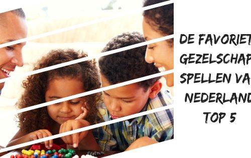 gezelschapsspellen top vijf nederland