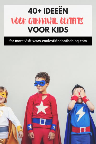 40+ carnavals outfits voor kids