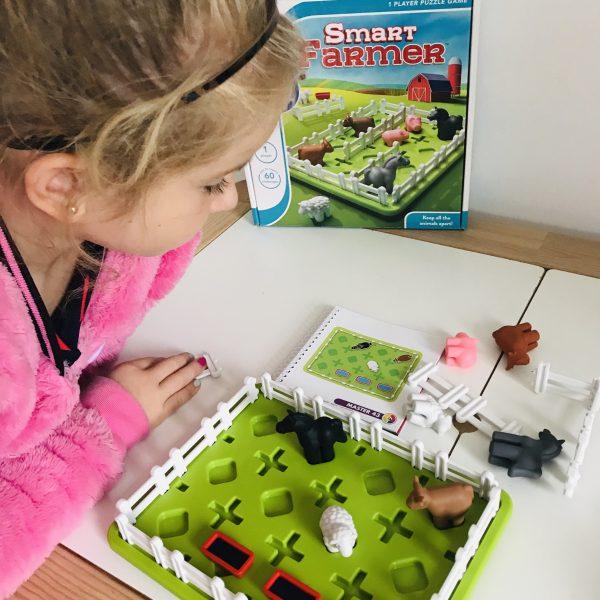 Smart Farmer, het spel voor slimme boeren in de dop!