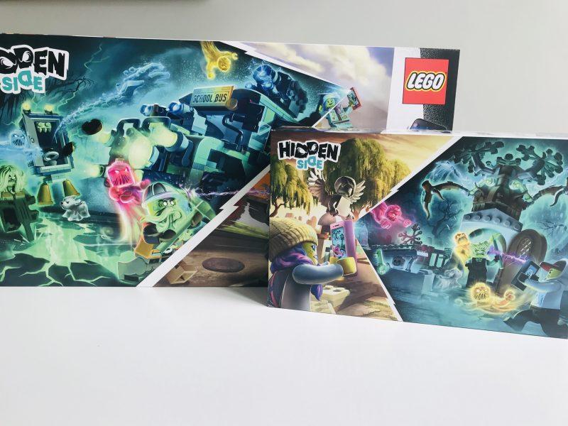 LEGO Hidden Side; spooky VR sets met ingebouwde games