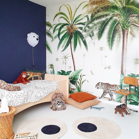 boho jungle kinderkamer