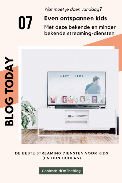 streaming diensten voor kids