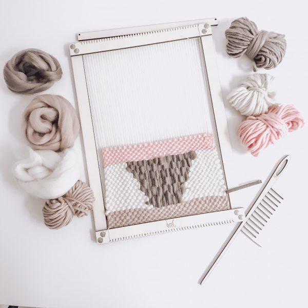 wandkleed weven DIY