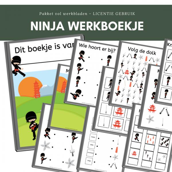 ninja werkboekje
