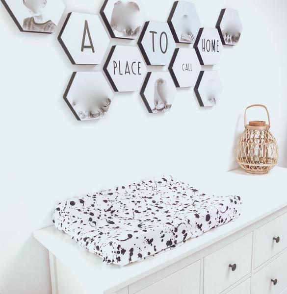 hexagon wanddecoratie