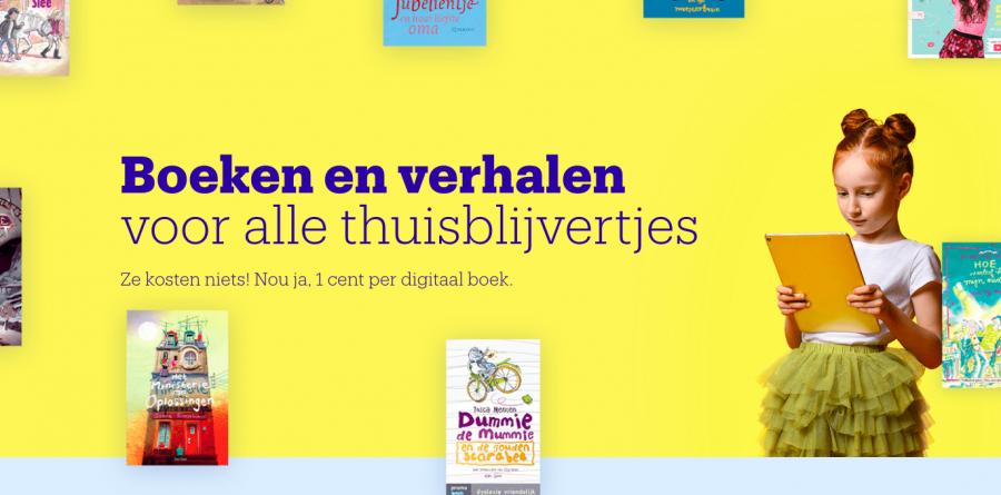 (bijna) GRATIS Nederlandse luisterboeken + e-boeken voor kids