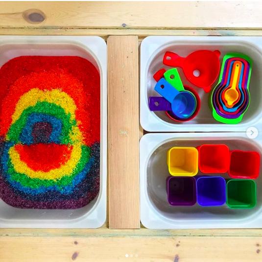 flisat fun sensorisch spelen kinderen