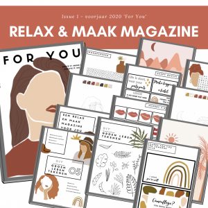 relax en maak magazine voor vrouwen