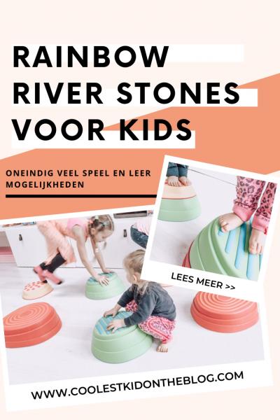 rainbow river stones we play spel mogelijkheden en spelend leren doe je zo