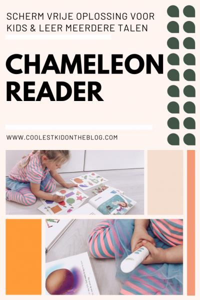 chameleon reader eigen luisterboeken maken