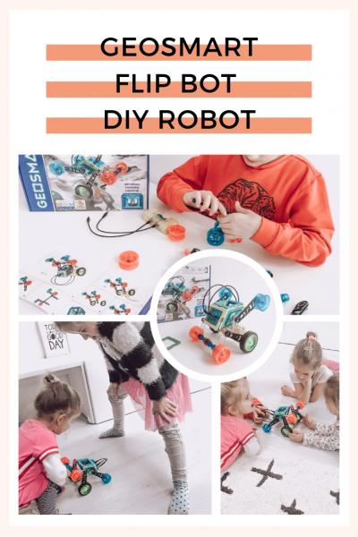 Met dit STEM speelgoed maak je je eigen robot samen met Geo Smart. Voor slimme kinderen die uitdaging zoeken of kleine ontdekkers en uitvinders in spé.
