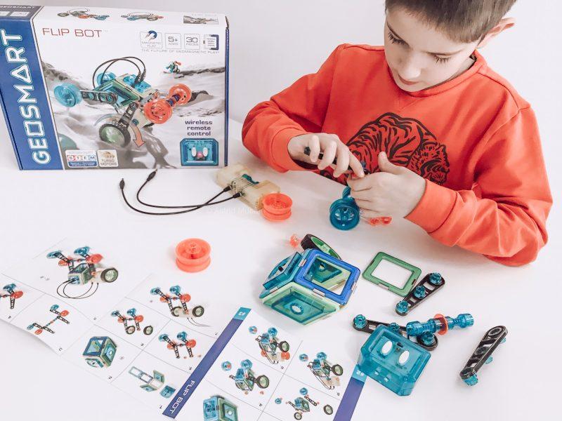 Flip Bot van GeoSmart; STEM speelgoed voor iedereen