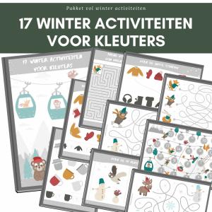 winter activiteiten bundel