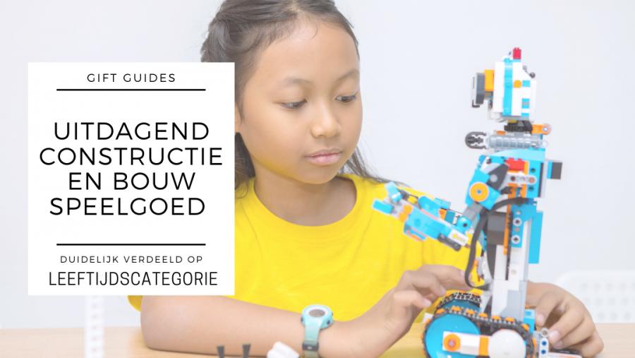 Uitdagende Bouw & Constructie speelgoed ideeën