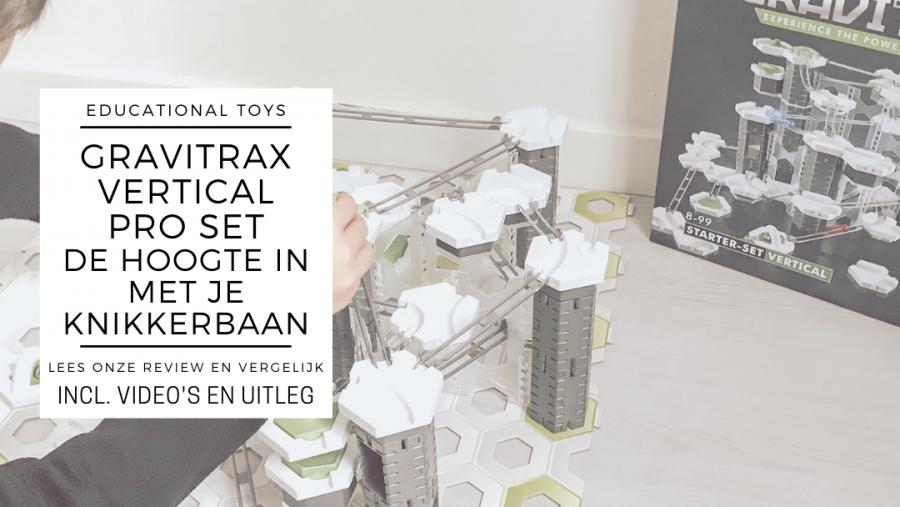 GraviTrax Vertical Pro set review, bouw nu ook de hoogte in!