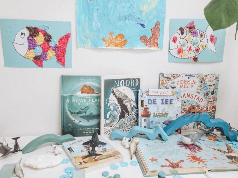 Oceaan, spelend leren met Schleich dieren, boekentips en knutsel projecten